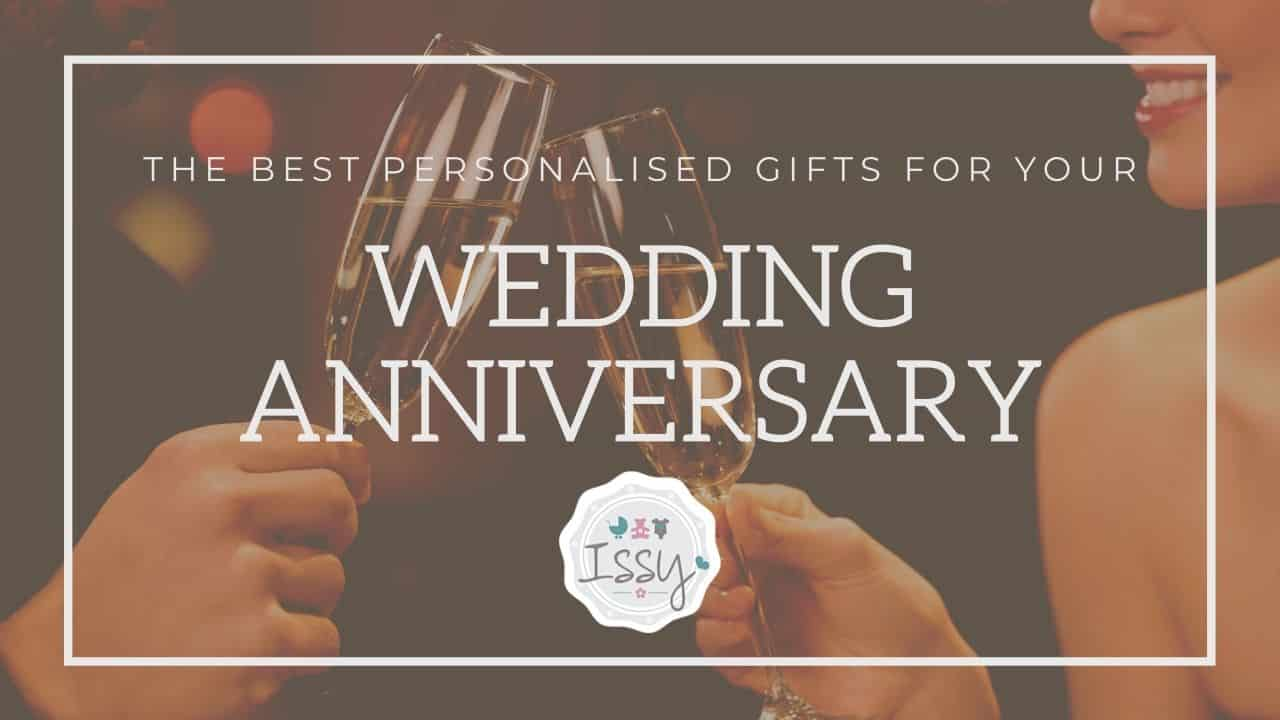 the best personalised wedding anniversary gifts uk