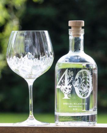 Premium Engraved Special Milestone Gin