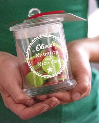 Personalised Naughty & Nice Jar