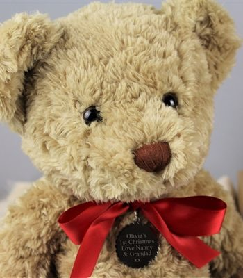 Personalised My 1st Christmas Bramble Bear