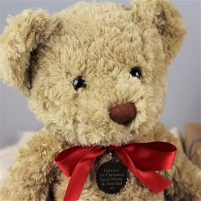 Personalised My 1st Christmas Bramble Bear