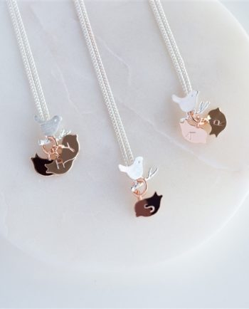 Family Bird Necklace