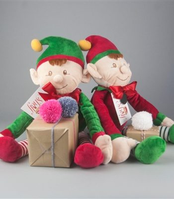 Personalised Naughty Or Nice Christmas Elf