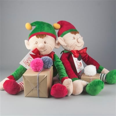Personalised 'Naughty Or Nice' Christmas Elf