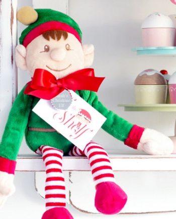 Personalised 'Naughty Or Nice' Christmas Elf