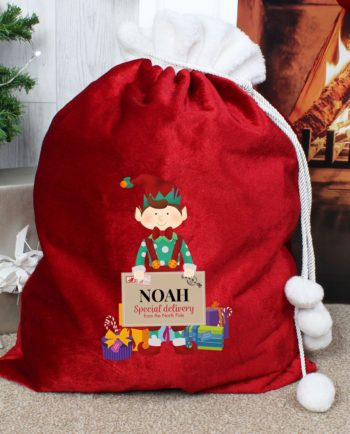 Personalised Christmas Elf Luxury Pom Pom Red Sack Personalised Christmas Elf Luxury Pom Pom Red Sack Personalised Christmas Elf Luxury Pom Pom Red Sack Personalised Christmas Elf Luxury Pom Pom Red Sack