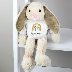 Personalised Rainbow Bunny Rabbit