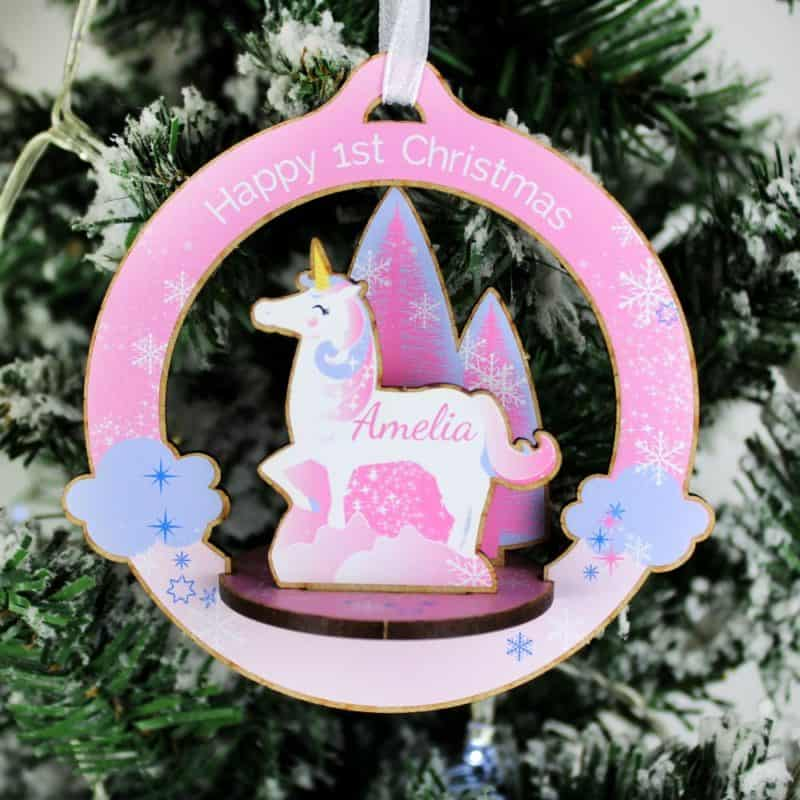 Personalised Make Your Own 3D Unicorn Decoration Kit