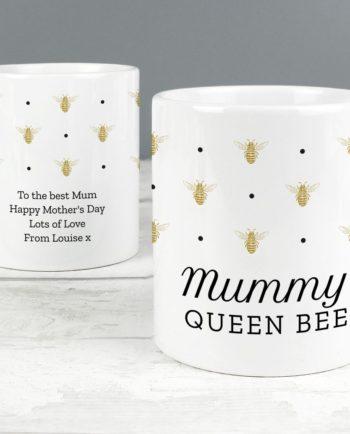Personalised 'Queen Bee' Mug