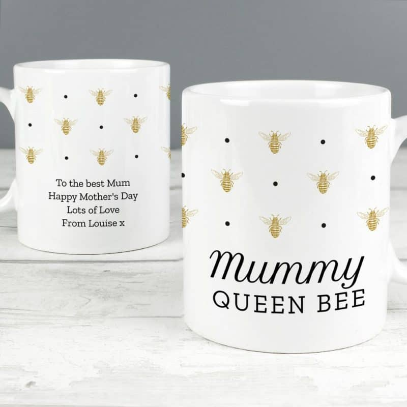 Personalised 'Queen Bee' Mug