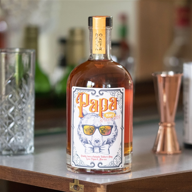 Personalised 'Papa Bear's' Spiced Rum
