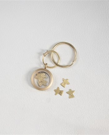 Personalised Mummy's Little Angels Keyring
