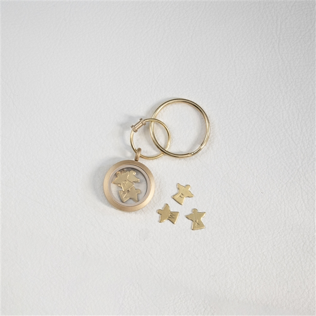 Personalised 'Mummy's Little Angels' Keyring