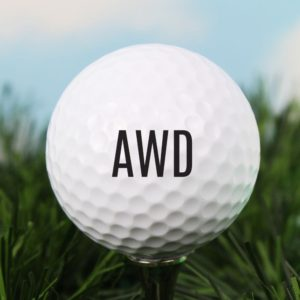 Personalised 'Initials' Golf Ball