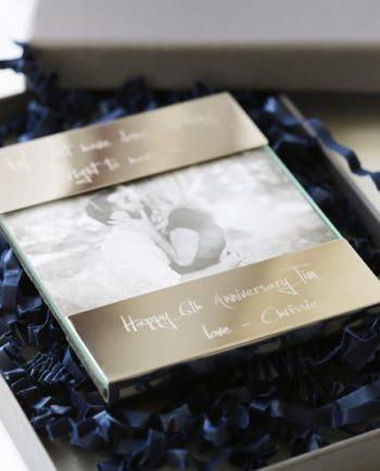 Personalised Own Handwriting Engraving Photo Frame