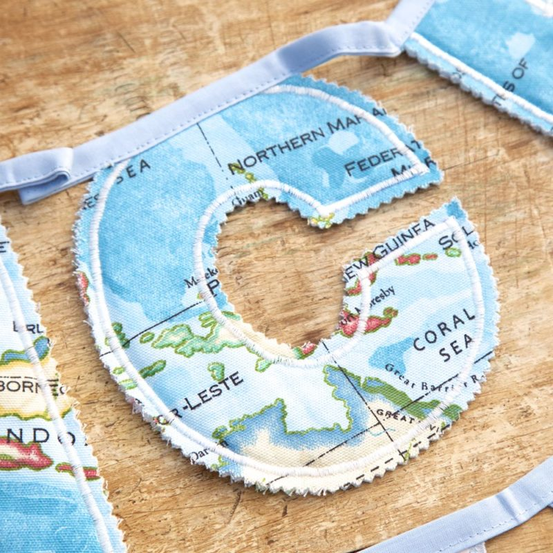 Personalised Fabric Letter Bunting
