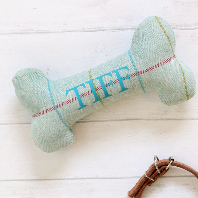 Personalised Fabric Dog Bone
