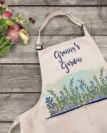 Personalised Garden Apron