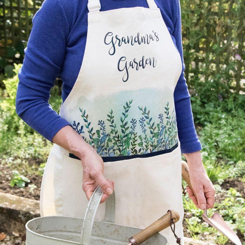 Personalised Garden Apron