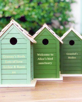 Personalised Wooden Bird Box
