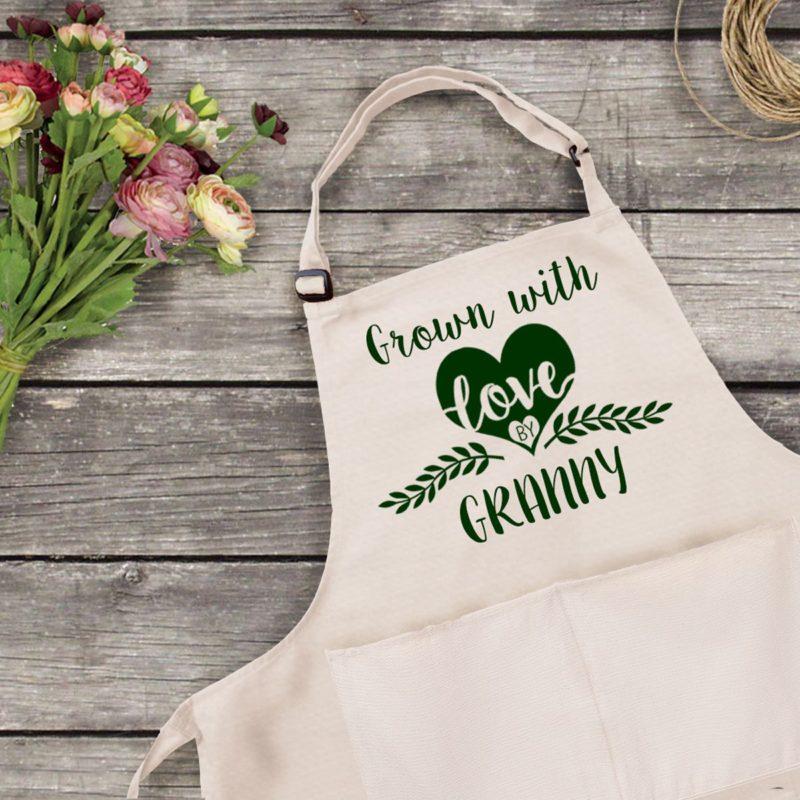 Personalised Gardening Apron