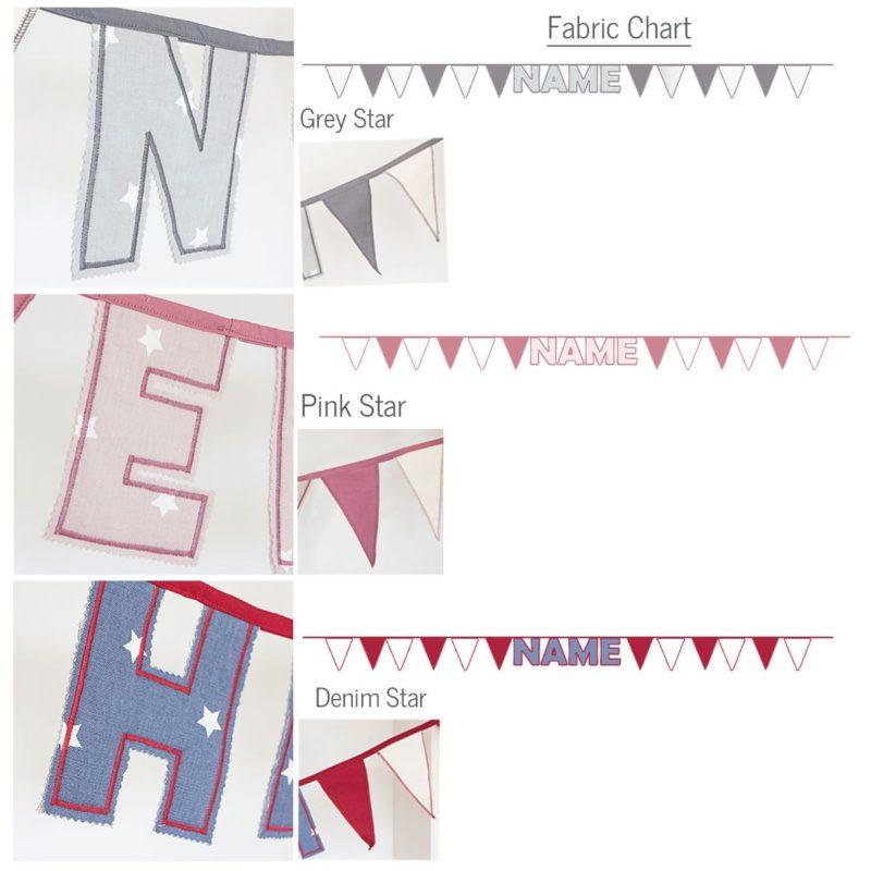 Personalised Handmade Name Bunting