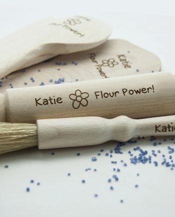 Personalised Flour Power Kids Baking Set