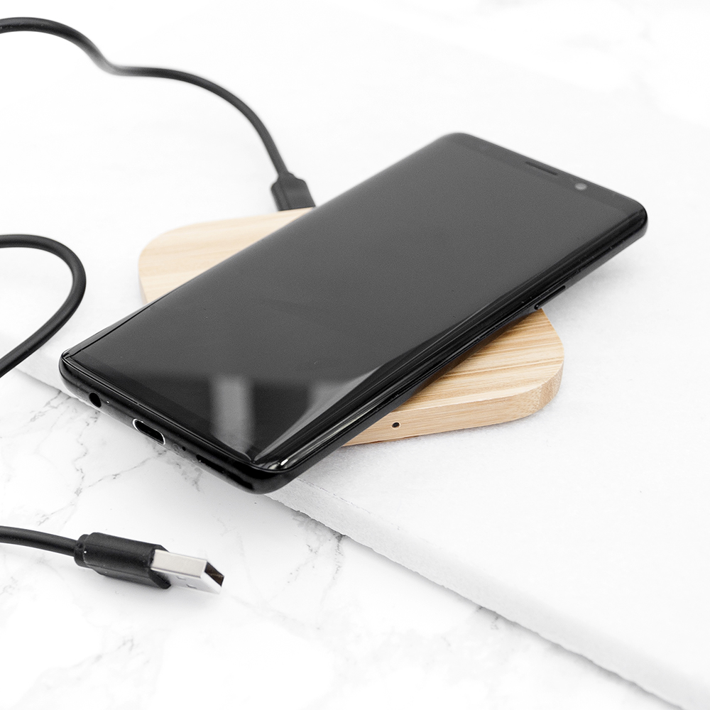 Charge Bamboo Wireless Charger