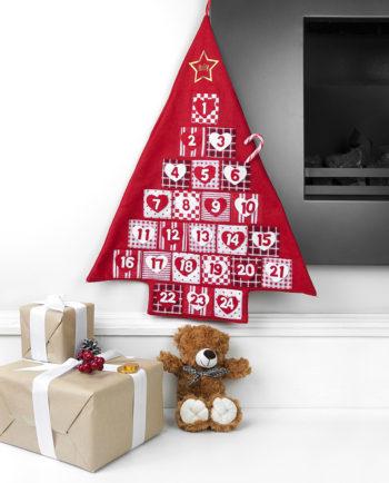ersonalised Festive Hanging Advent Calendar
