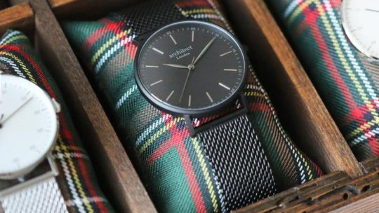 personalised watch for a male friend