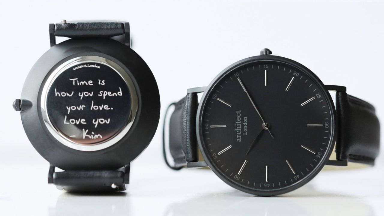 personalised watch for him
