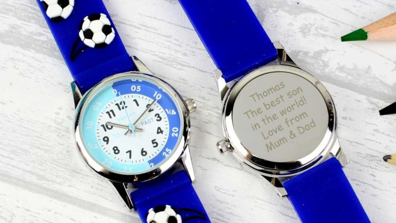 personalised watch for little boy
