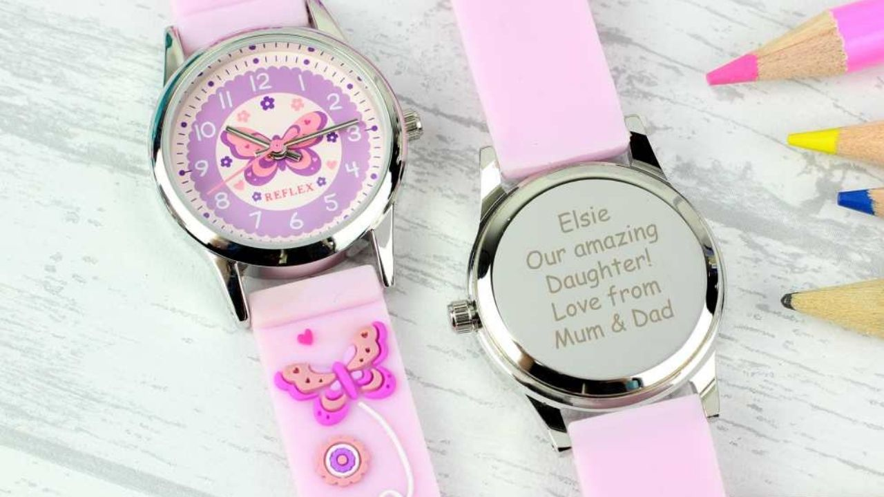 personalised watch for little girl