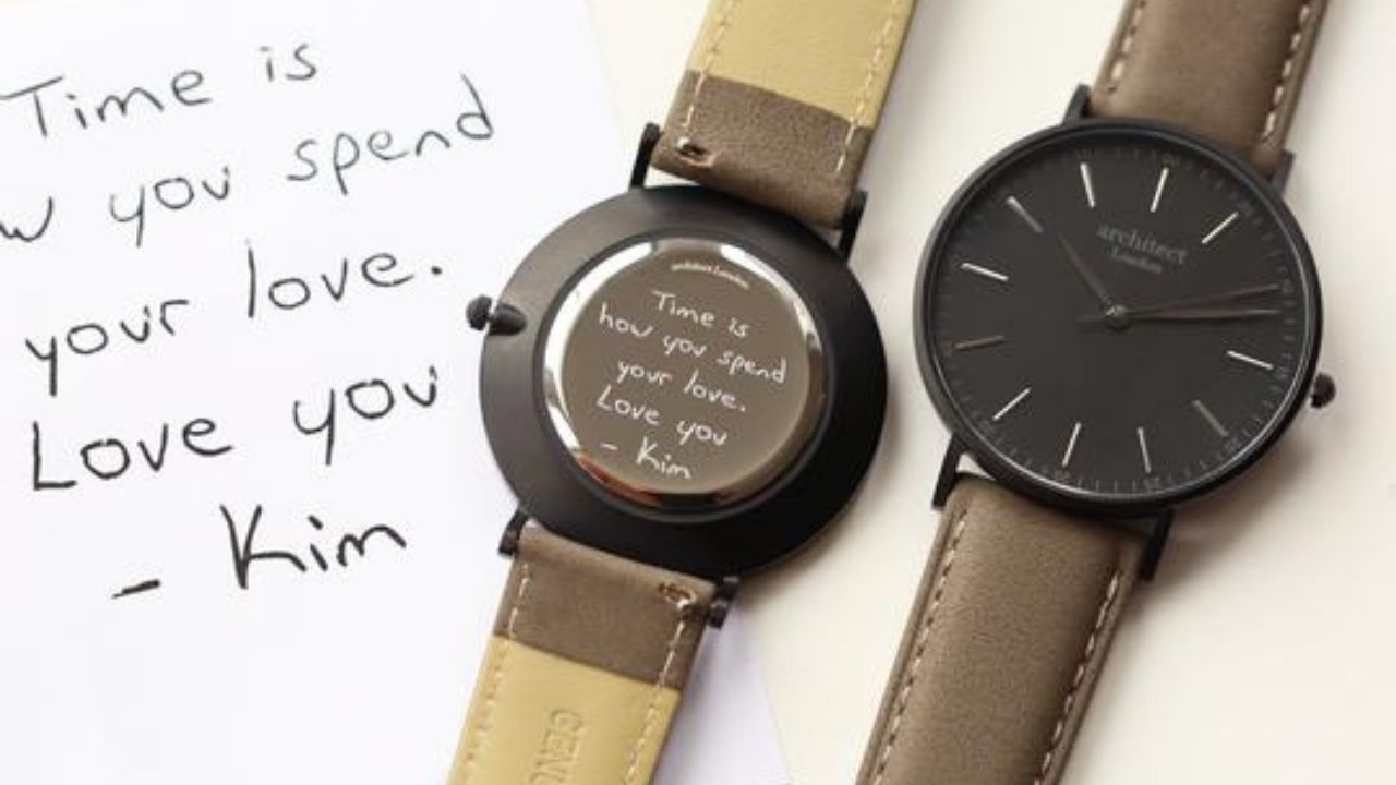 personalised watch for men