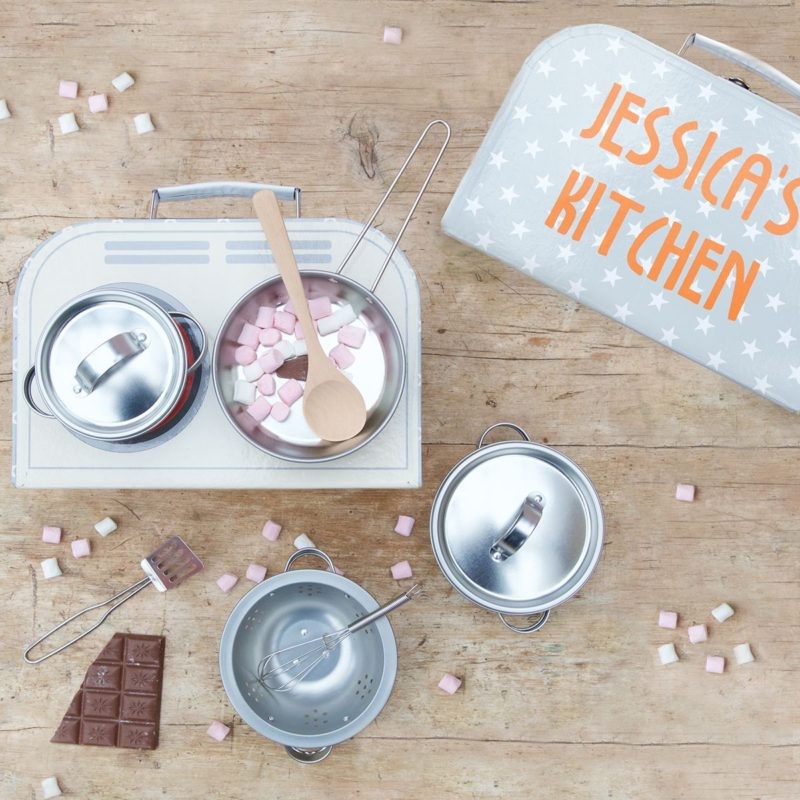 Personalised Children's Cooking Set