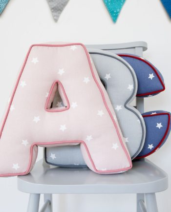 Personalised Star Letter Cushion