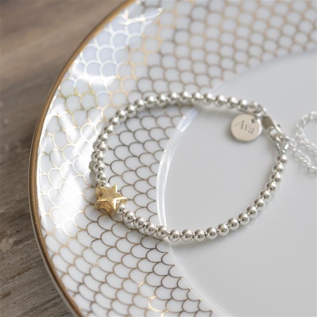 Personalised North Star Bracelet