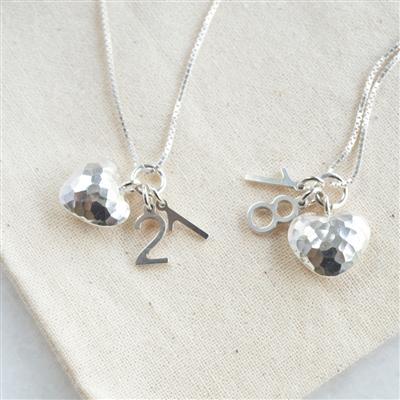 Special Milestone Silver Necklace