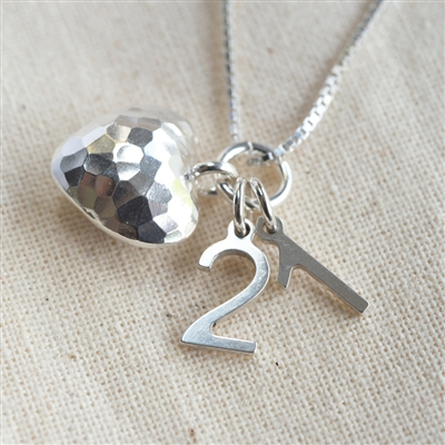 Special Milestone Silver Necklace