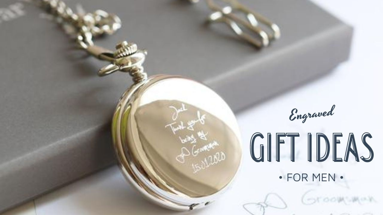 engraved gift ideas for men