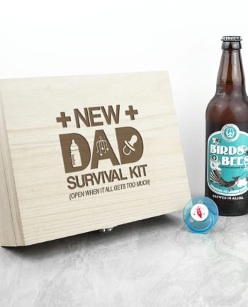 Personalised New Dad Survival Box