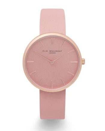 Personalised Elie Beaumont Hampstead Pink Ladies Watch Gift