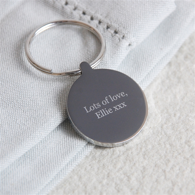 Personalised Love You Lots Like Jelly Tots Keyring
