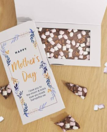Personalised Mother's Day Milk Chocolate Card