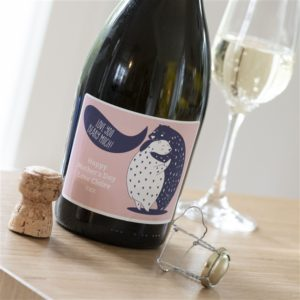 Personalised 'Love You Beary Much' Prosecco