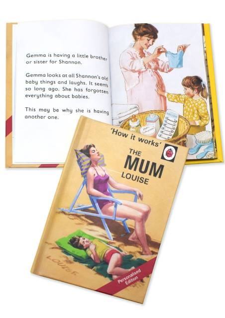 The Mum: A Ladybird Personalised Book