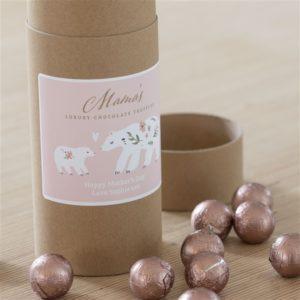 Personalised Mama Bear Chocolate Truffles