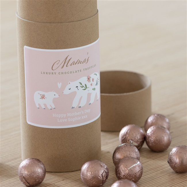 Personalised 'Mama Bear' Chocolate Truffles