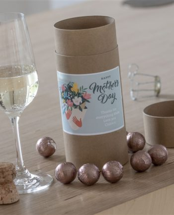 Personalised Mother's Day Bouquet Chocolate Truffles