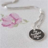 My Beautiful Mum Necklace
